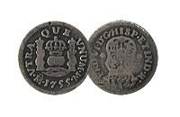 (1732-1772). Spanish-American. FINE.