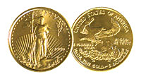 Bullion Coins - Gold, Silver, Platinum