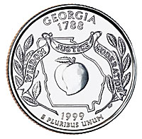 1999-D. Select BU. Georgia.
