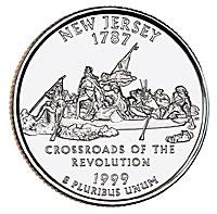1999-D. Select BU. New Jersey.