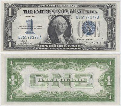 1934. $1. CCU. Silver Certificate.