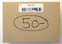 $50 Bargain Box.