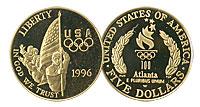 1996-W. GPF. Flag Bearer $5.