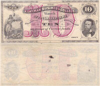 1881. $10. VF. NY.