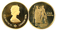 1976. Canada. $100. CPF.