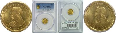 1904. PCGS. MS-63. Lewis and Clark $1.