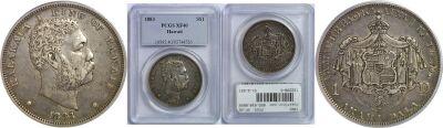 1883. Dollar. PCGS. XF-40.