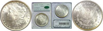 1878-7/8TF. PCGS. MS-62.