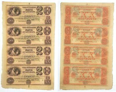 1850's. $20. CU. LA.