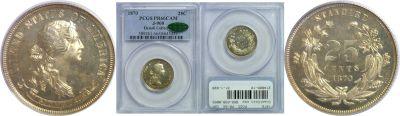 1870. Quarter. PCGS. PR-66. CAM. J-900.