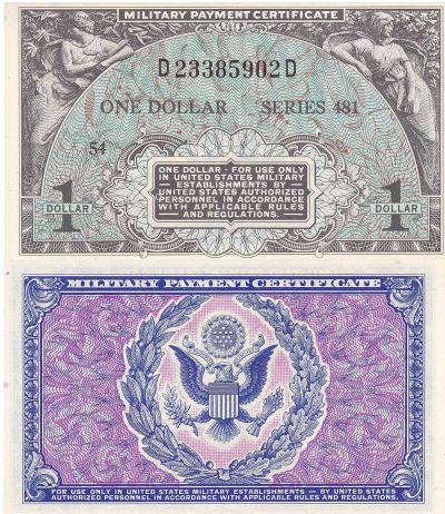 1 Dollar. 481. CCU.