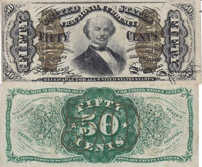 50c. 3rd Issue. VF+. 1342.