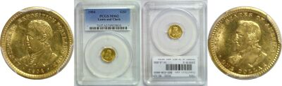 1904. PCGS. MS-62. Lewis and Clark $1.