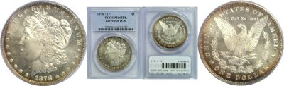 1878-7TF. PCGS. MS-65. PL.