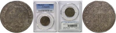 (1659). Maryland, Lord Baltimore. PCGS. AU-50.