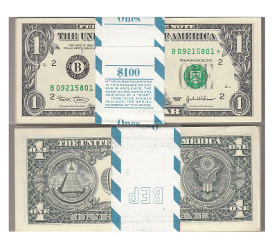 2003*. $1. F-1928-B*. CCU. Federal Reserve Note.
