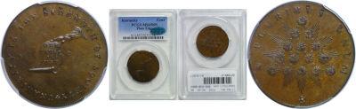 (1792-94). Kentucky Token. PCGS. MS-65. BN.