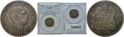 1883. Quarter. PCGS. MS-61.
