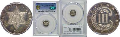 1866. PCGS. PR-65. CAM.