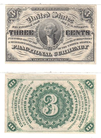 3c. 3rd Issue. CU. F-1226.