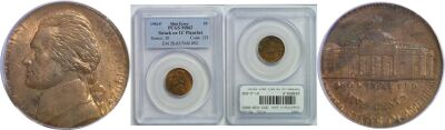 1992. PCGS. MS-62. Nickel. Wrong Planchet.