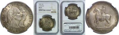 1900. NGC. MS-63. Lafayette Dollar.