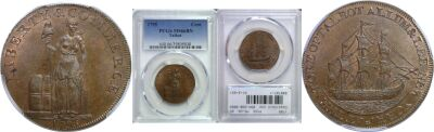 1795. Talbot, Allum and Lee. PCGS. MS-66. BN.