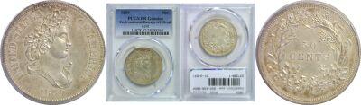 1859. Half Dollar. PCGS. Genuine. J-241.