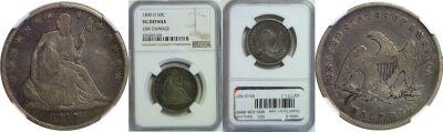 1840-O. NGC. Genuine.