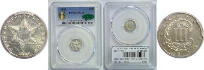 1858. PCGS. PR-65+.
