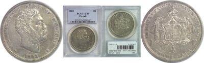 1883. Dollar. PCGS. VF-30.