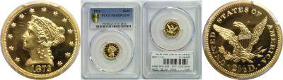 1872. PCGS. PR-65. DCAM.