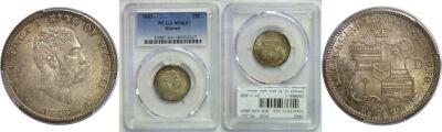 1883. Quarter. PCGS. MS-64+.