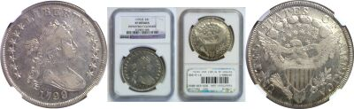 1799/8. NGC. Genuine.